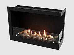 Встроенный биокамин Lux Fire Угловой 690 S правый угол)