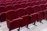Кресло для актовых залов с высокой спинкой