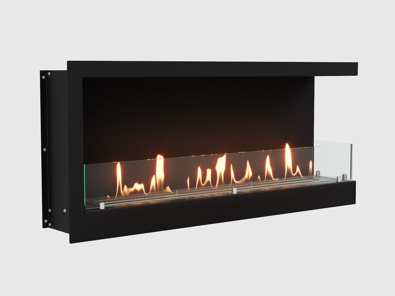 Встроенный биокамин Lux Fire Угловой 1090 S (правый угол)