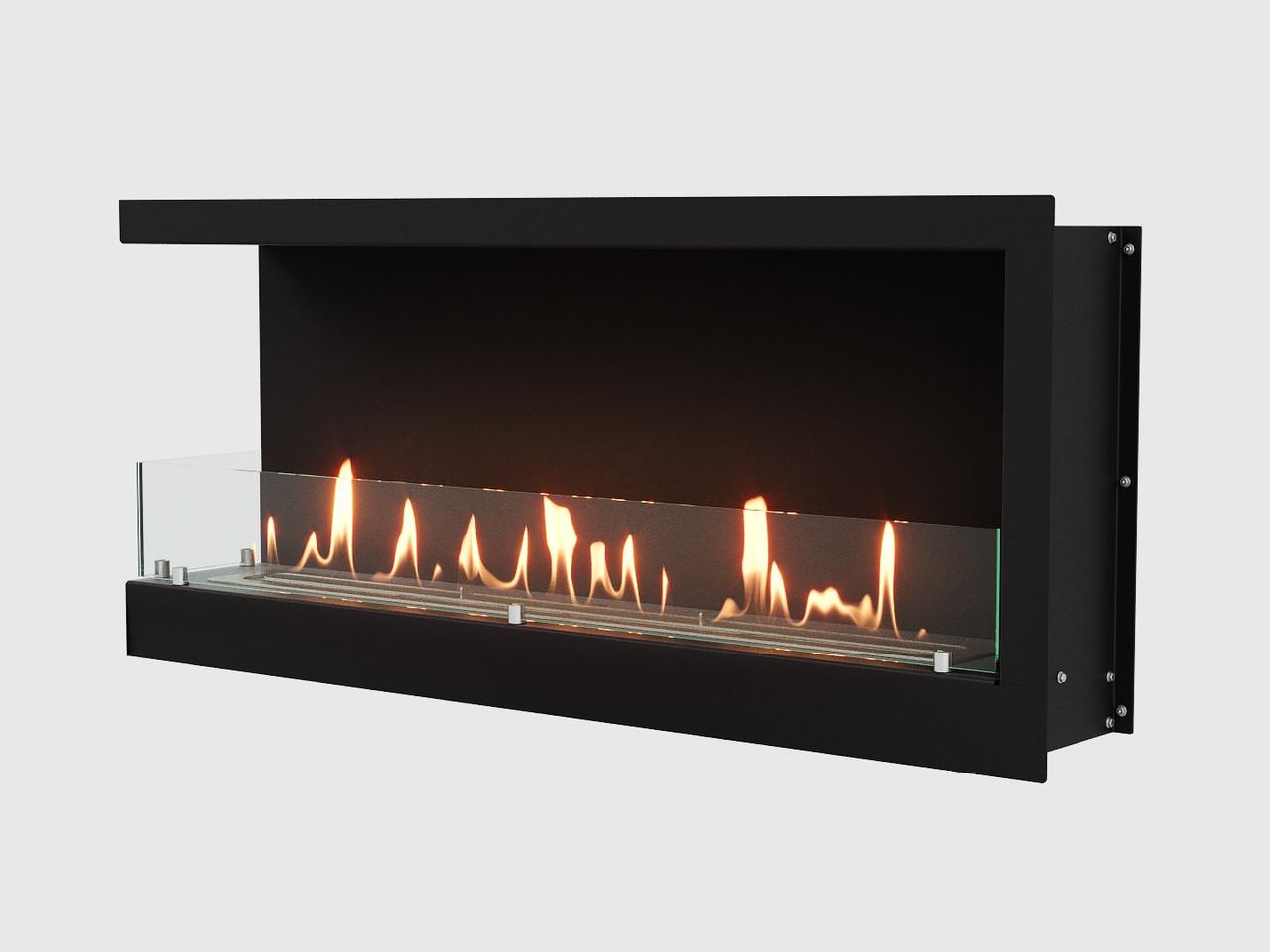 Встроенный биокамин Lux Fire Угловой 1090 S (левый угол)
