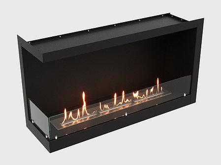 Встроенный биокамин Lux Fire Угловой 1155 М (левый угол), фото 2