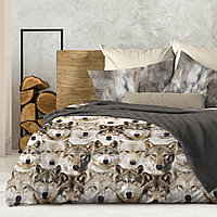 Wenge Комплект постельного белья  Nord,  WENGE, 2 спальный евро