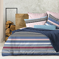 Wenge Комплект постельного белья Forte,  WENGE, 2 спальный евро