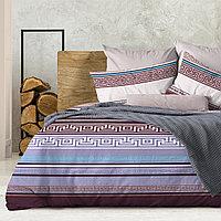 Wenge Комплект постельного белья Ageon,  WENGE, 2 спальный евро (наволочки 70х70),