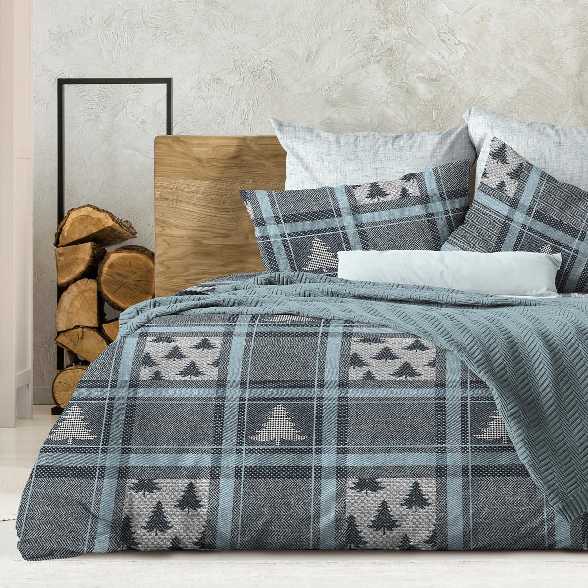 Wenge Комплект постельного белья Aspen,  WENGE, 2 спальный евро (наволочки 70х70),