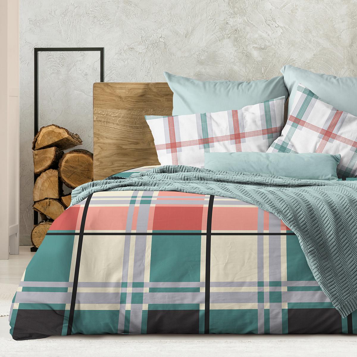 Wenge Комплект постельного белья Brisbane,  WENGE, 2 спальный евро (наволочки 70х70),