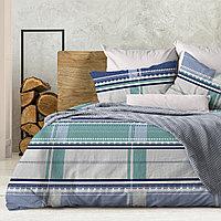 Wenge Комплект постельного белья Kempten,  WENGE, 2 спальный евро (наволочки 70х70),