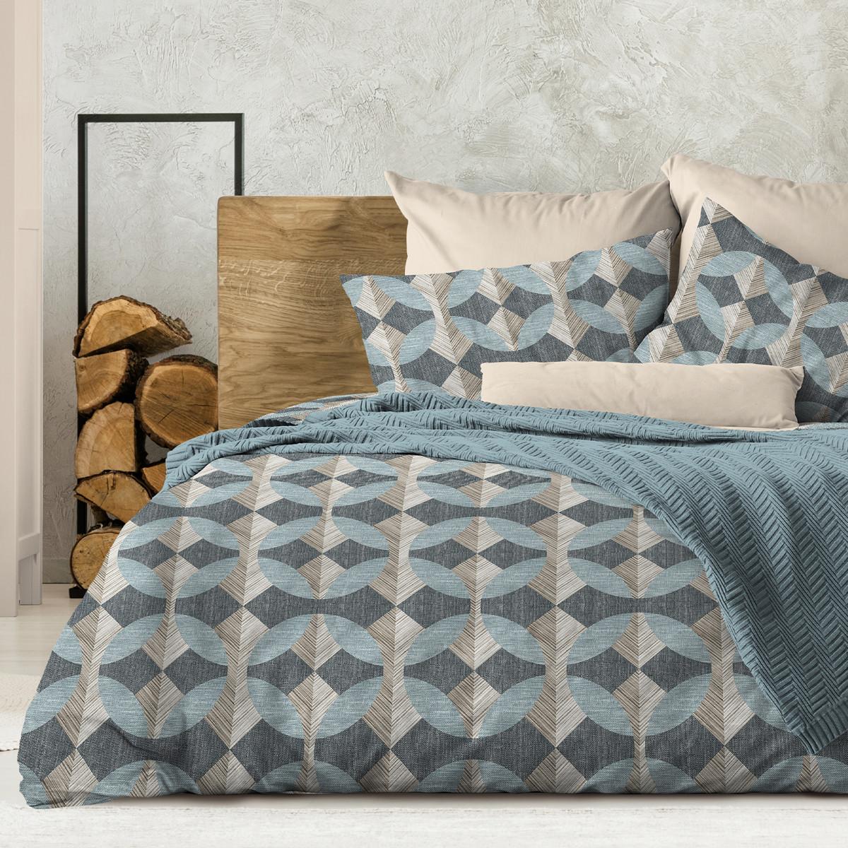 Wenge Комплект постельного белья Montana,  WENGE, 2 спальный евро (наволочки 70х70),