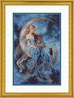 """Набор для вышивания крестом """"Фея ветреной луны"""""""