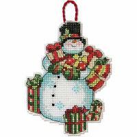 """Набор для вышивания крестом """"Украшение. Снеговик"""""""