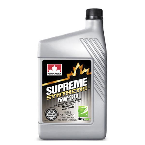 SUPREME SYNTHETIC 5W-30 4X4LCASE