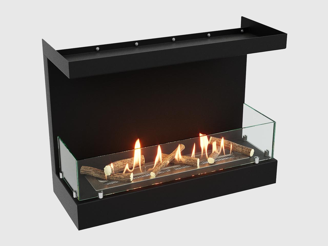 Встроенный биокамин Lux Fire Фронтальный 640 S