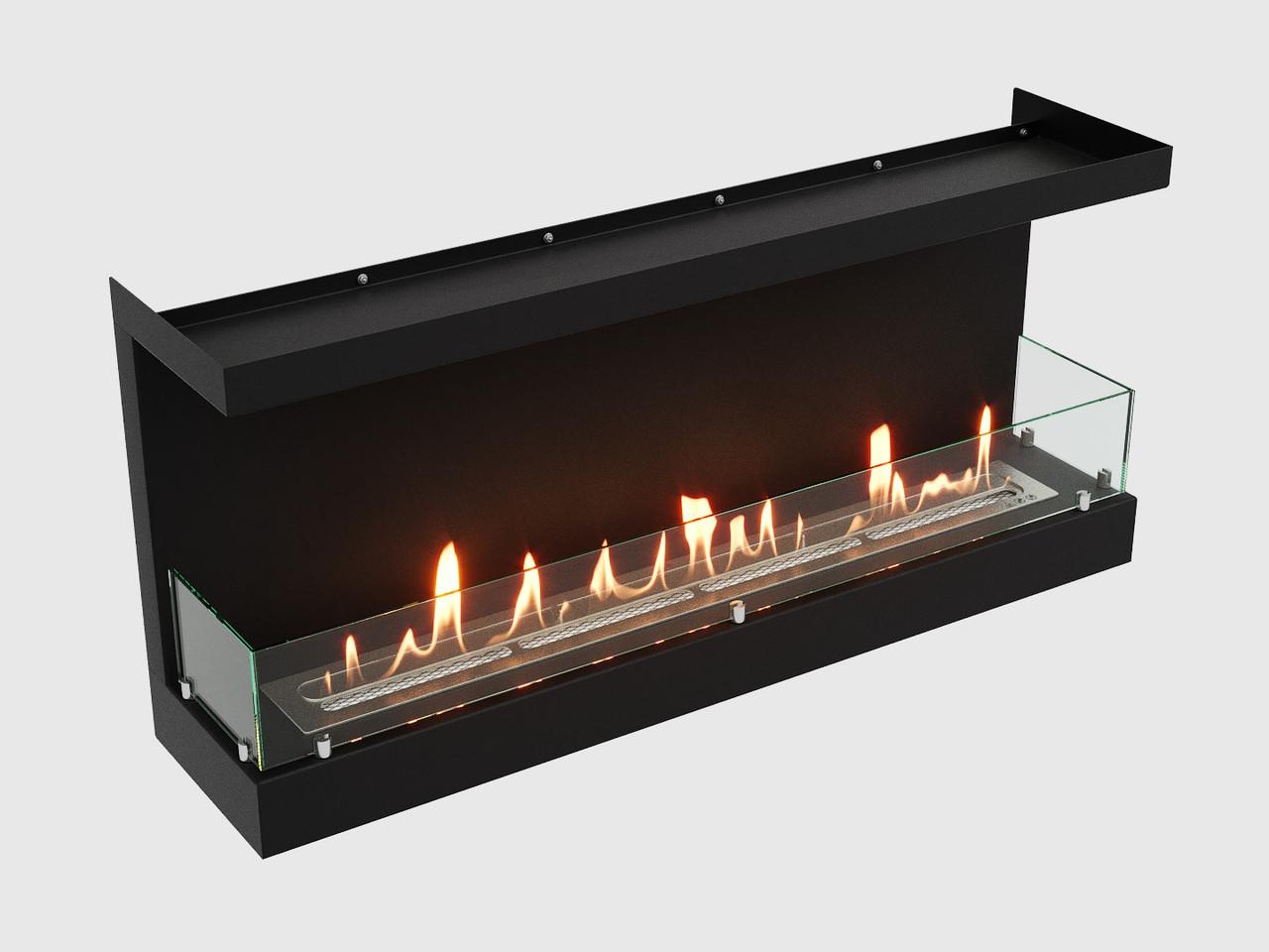 Встроенный биокамин Lux Fire Фронтальный 1040 S