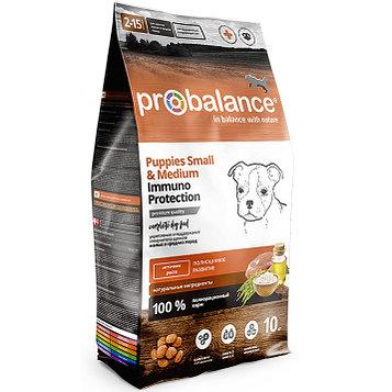 Пробаланс Immuno Корм сухой для щенков мелких и средних пород, 10 кг