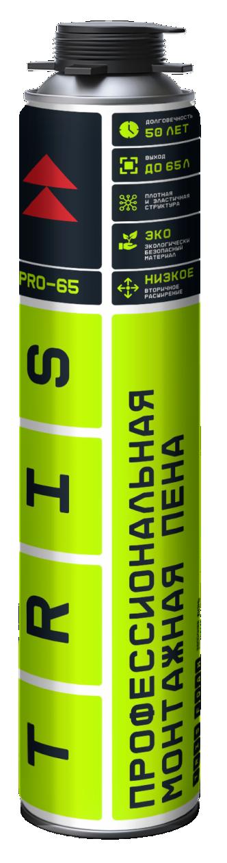 TRIS, Профессиональная монтажная пена PRO-65