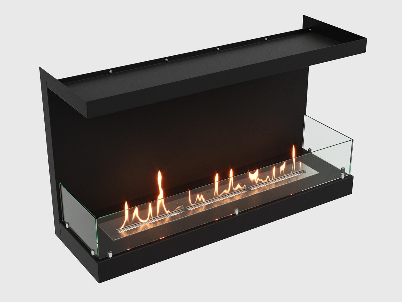 Встроенный биокамин Lux Fire Фронтальный 1100 М