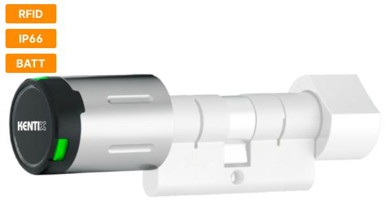 Дверной замок-DC PRO радиокнопка (MIFARE® DESFire®) для использования вне помещений (IP66)