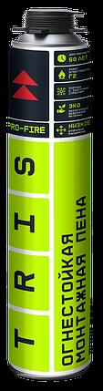 TRIS, Профессиональная огнестойкая монтажная пена PRO-FIRE, фото 2
