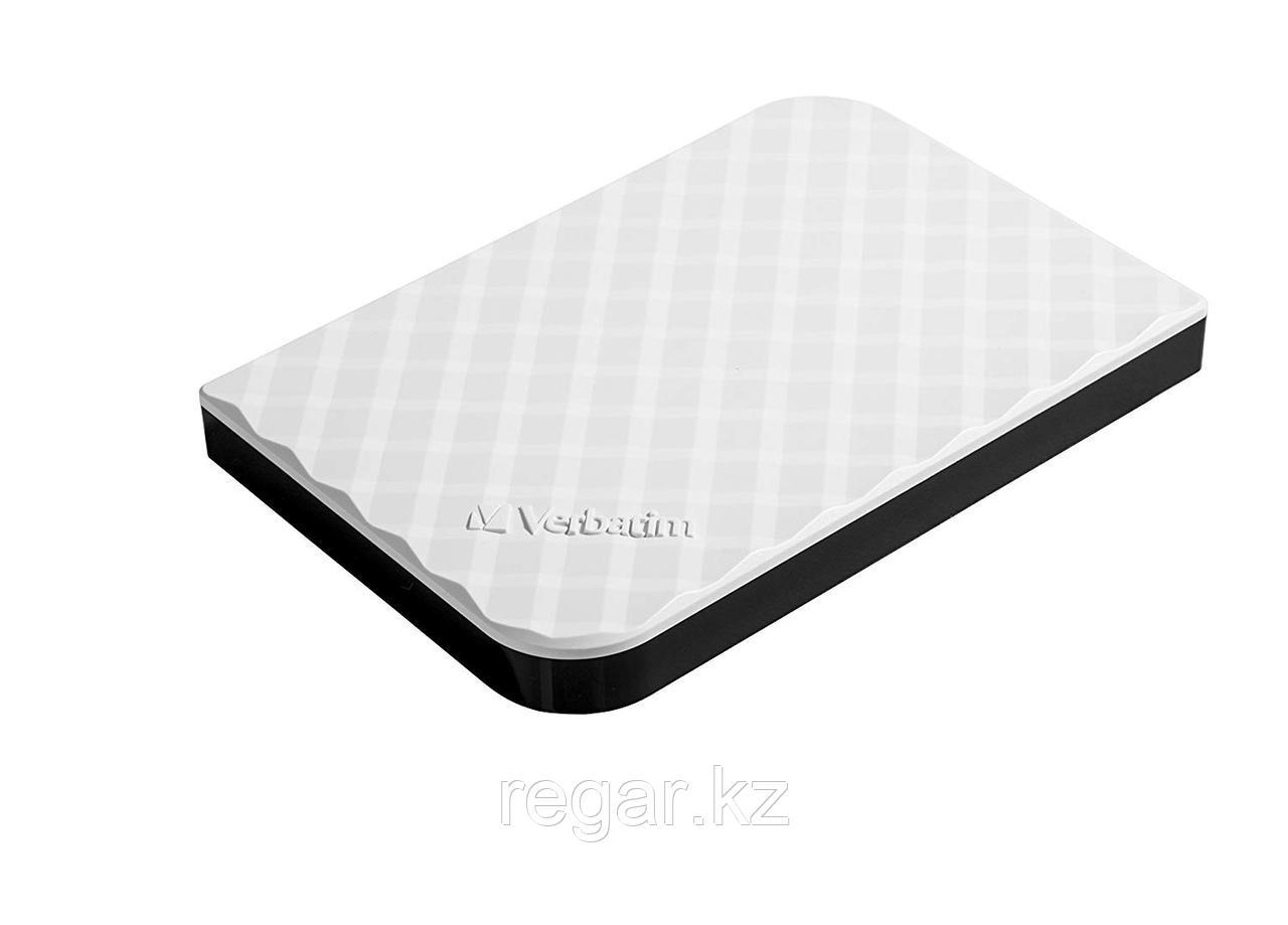 Внешний жесткий диск 2,5 1TB Verbatim 053206 белый