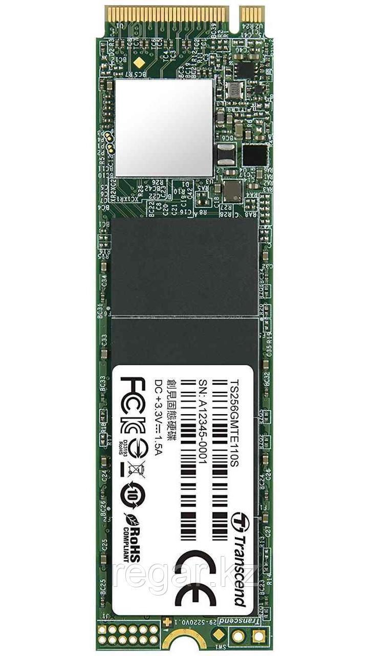 Жесткий диск SSD 256GB Transcend TS256GMTE110S M2