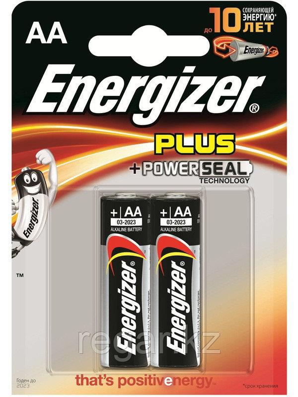 Элемент питания LR6 AA Energizer POWER  Alkaline 2 штуки в блистере