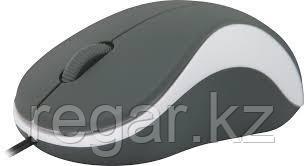 Мышь проводная Defender Accura MS-970 серый+белый, 3 кнопки,1000dpi