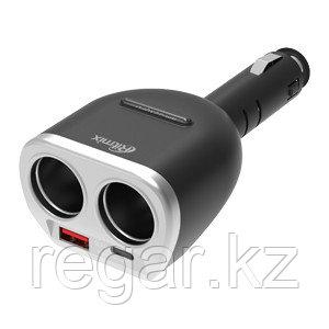 Зарядное устройство автомобильное Ritmix RM-22XQPD черный
