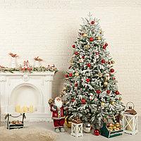 Распродажа уценённого товара - заснеженная новогодняя елка высотой 180 см