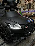 Толокар Audi RS с родительской ручкой, фото 10