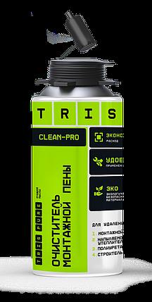 TRIS, Очиститель монтажной пены CLEAN-PRO, Для удаления: монтажной пены, утеплителя, клея, фото 2