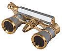 Бинокль Levenhuk Broadway 325N лорнет с подсветкой, золотой, фото 3