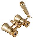 Бинокль Levenhuk Broadway 325N лорнет с подсветкой, золотой, фото 6