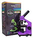 Микроскоп Levenhuk Rainbow 2L PLUS Amethyst\Аметист, фото 10