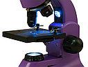 Микроскоп Levenhuk Rainbow 50L PLUS Amethyst\Аметист, фото 7