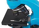 Микроскоп Levenhuk Rainbow 50L PLUS Azure\Лазурь, фото 5
