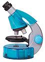 Микроскоп Levenhuk LabZZ M101 Azure\Лазурь, фото 2