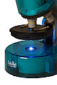 Микроскоп Levenhuk LabZZ M101 Azure\Лазурь, фото 7