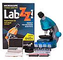 Микроскоп Levenhuk LabZZ M101 Azure\Лазурь, фото 8