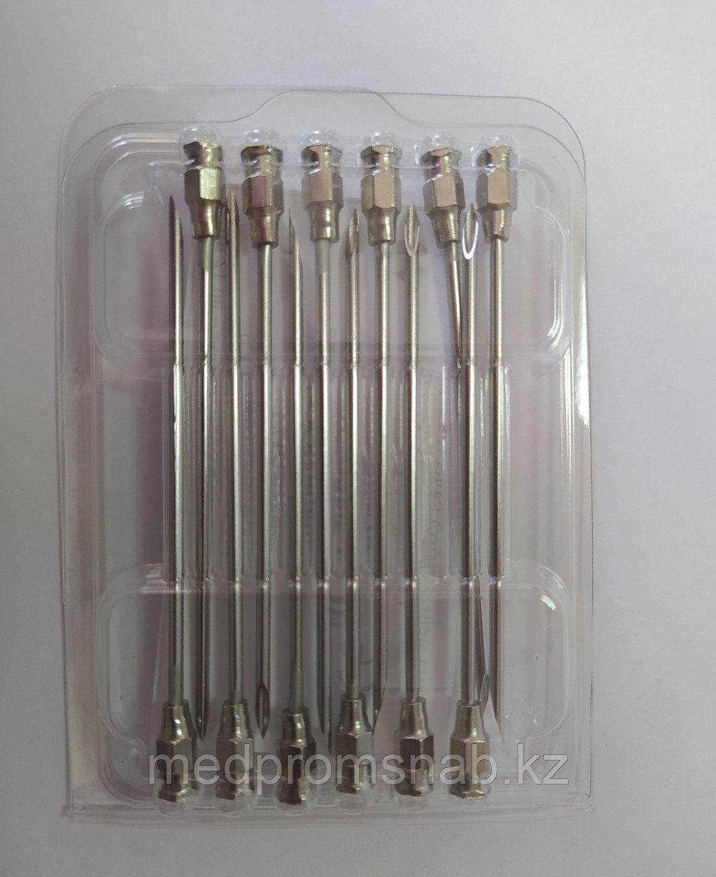 Игла ветеринарная  2,0 х 90 мм, инъекционная И-253