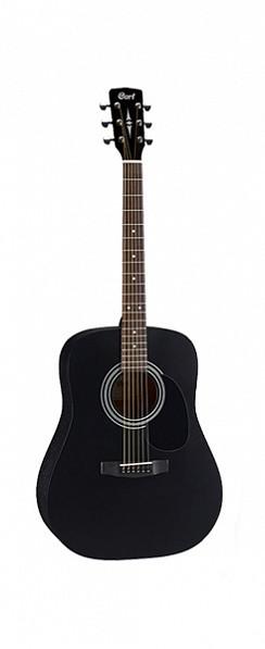 Акустическая гитара, черная, Cort AD810-BKS Standard Series