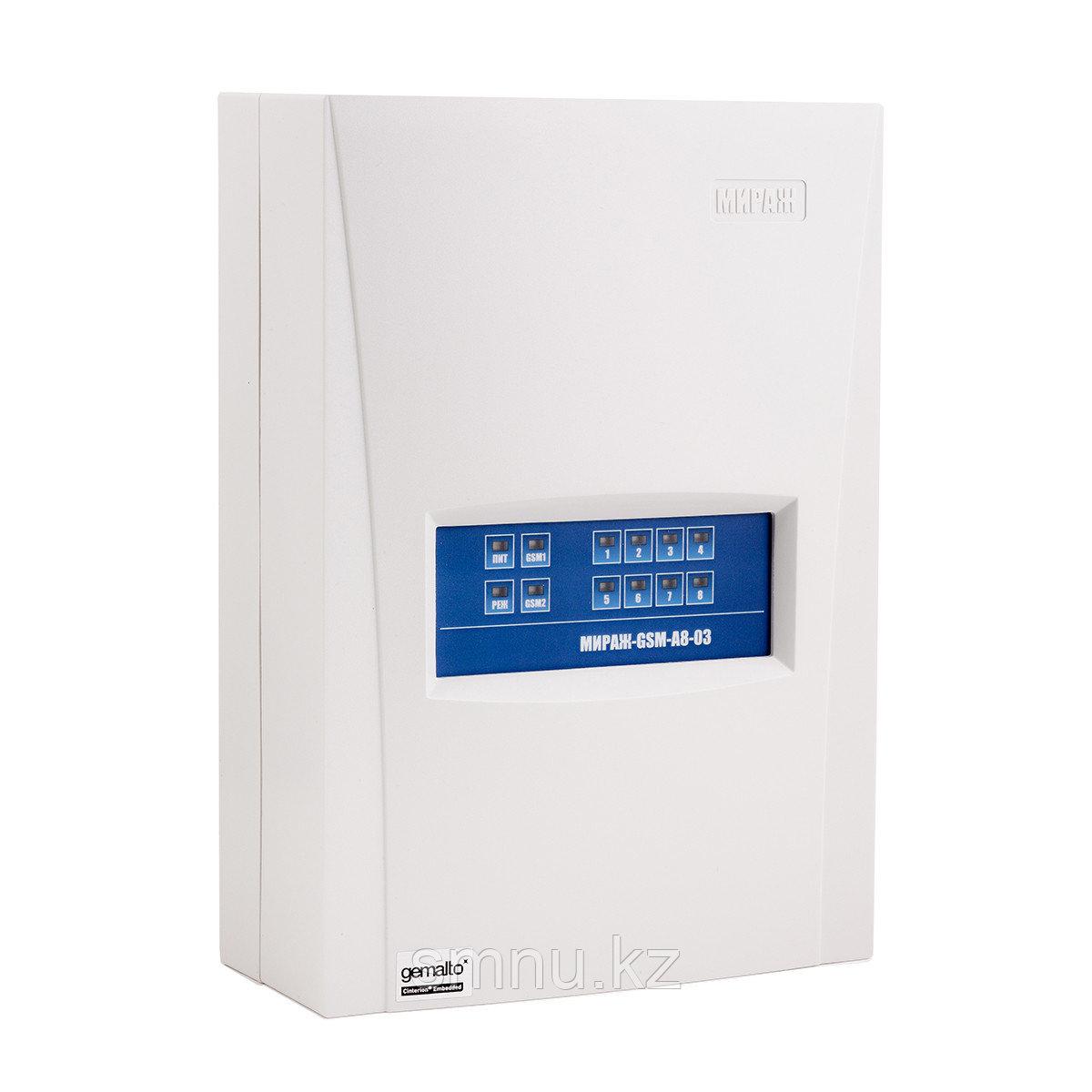 """Мираж- GSM-А8-04 - Контроллер охранно-пожарной сигнализации с функциями """"умного дома"""""""