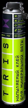 TRIS, Напыляемый клей для минеральной ваты WOOL FIX, 1000мл, фото 2