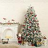 Уценка! Заснеженная новогодняя ёлка 180 см с большой скидкой!