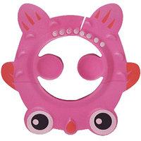 Шапочка козырек для купания детей Рыбка розовая (чепчик для купания)