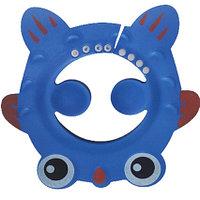 Шапочка козырек для купания детей Рыбка синяя (чепчик для купания)