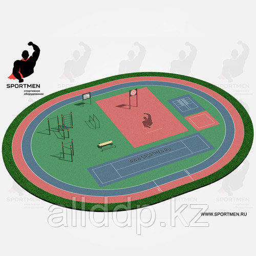 Спортивная площадка ВФСК 1