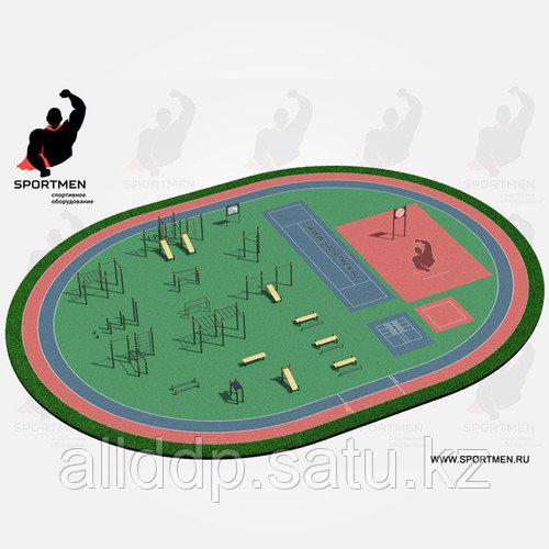 Спортивная площадка ВФСК 4