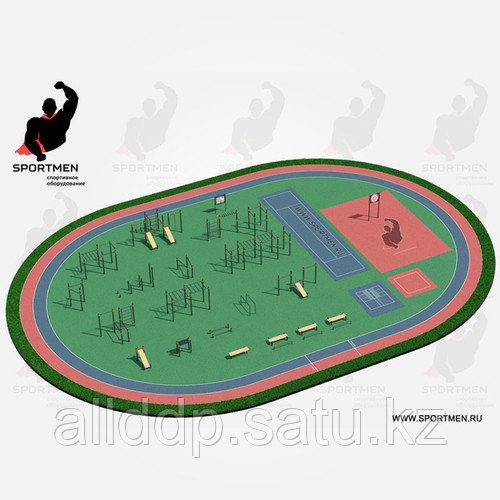 Спортивная площадка ВФСК 5