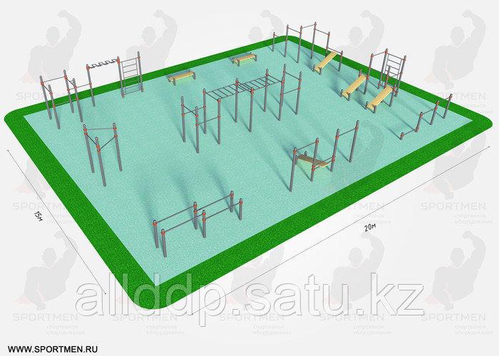 Спортивная площадка K-7