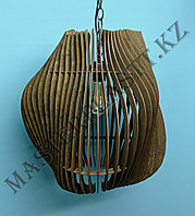 Люстра - светильник из дерева. №8, фото 1